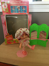 Vintage Dancin' Strawberry Shortcake Ballerina ballet doll - w/ original box