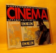 MAXI Single CD ICE MC Cinema 4TR 1990 Euro House MEGA RARE ORIGINAL 1990 !
