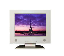"12"" Inch VGA Input 4:3 TFT LCD Monitor 1024x768 Computer Display Screen white"