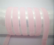"NEW DIY 5 yards 3/8"" 10mm Soft Comfortable velvet ribbon many choose colours"
