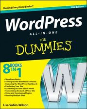 WordPress All-in-One For Dummies (Paperback), Sabin-Wilson, Lisa, 9781118383346