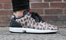 Adidas Originals ZX Flux Decon Leopard Cheetah sz 11 shoes scott sneakers jeremy