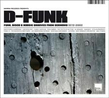Various - D-FUNK - Funk, Disco & Boogie Grooves From Germany 1972-2002 (Digipak)