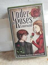 UNDER THE ROSES LENORMAND ORACLE FORTUNE TELLING TAROT DECK CARDS Divination