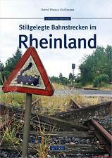Fachbuch Stillgelegte Bahnstrecken im Rheinland, Einblick mit tollen Bildern NEU