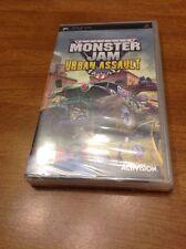 *NEW * SEALED* Monster Jam Urban Assault (Sony PSP, 2008)