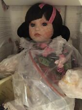 "GEORGETOWN COLLECTION PORCELAIN DOLL ""BLACKBERRY BLOSSOM"" BY ANN TIMMERMAN"