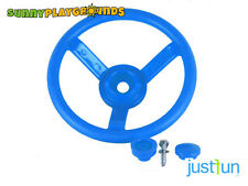 PLASTIC STEERING WHEEL BLUE Swing Seat Set Accessories Playset  Playground