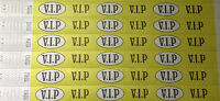 """VIP 3/4"""" Tyvek Wristbands (like paper), security, events, festival"""