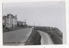 Folkestone, The Leas, Publishers Proof Photo Card, A702
