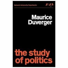 Study of Politics by Maurice Duverger (1972, Paperback)