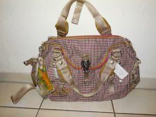 GEORGE GINA & LUCY XXL Shopper Tasche Gertrud / Daisy Saddle Red Rot NEU Rarität