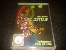 LED ZEPPELIN - COLLECTORS EDITION 4 DVD SET - THE INDEPENDENT FILM REVIEW SEALED