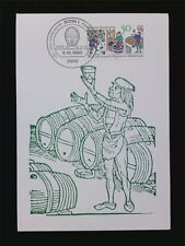 BUND MK 1980 WEINBAU WINE GRAPE WEIN VINE MAXIMUMKARTE MAXIMUM CARD MC CM c5897