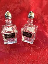 2 Pairs JACK DANIEL's Mini Liquor 50ml Bottles Upcycled SALT & PEPPER Shakers