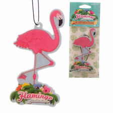Pink Flamingo Air Freshener - Pina Colada Scent - Tropical Novelty Gift BNIP