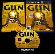 GUN Ps2 Versione Ufficiale Italiana 1ª Edizione ••••• COMPLETO