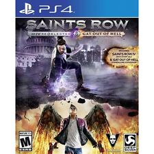 Saints row iv re-elected et gat out of hell PS4 game brand new