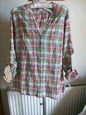 Per Una Crinkle Long/Short Sleeve Shirt, Size 18, M&S, BNWT