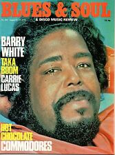Barry White Blues & Soul Issue 284 1979 Carrie Lucas Hot Chocolate Shirley Brown
