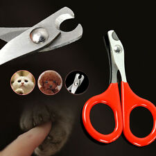 Pet Dog Cat Rabbit Bird Guinea Pig Claw Nail Clippers Cutters Trimmers Scissors