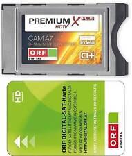 ORF Karte mit Premium Irdeto CI+ Modul  LED LCD TVs mit der ORF Karte HD