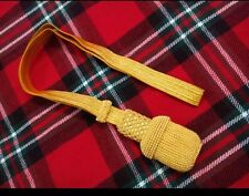 NEW ROYAL NAVY OFFICER SWORD KNOT GOLD/HOLDEN SWORD KNOT BRITISH ARMY/SWORD KNOT