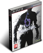 RESIDENT EVIL 6 STEEL BOX GIOCO NUOVO PER SONY PS3 EDIZIONE PAL UK PS3022761