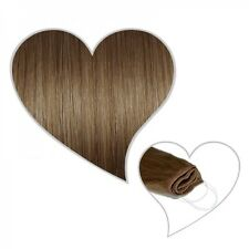 Easy Flip Extensions in dunkelblond#10 50 cm 110 Gramm Echthaar Your Hair Secret