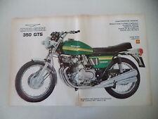 advertising Pubblicità 1973 MOTO GUZZI 350 GTS