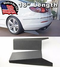 "ABS 18"" Rear Bumper Lip Skirts Apron Splitter Diffuser Valence For Mazda Subaru"
