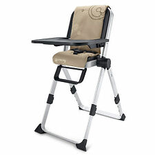 NEW CONCORD SPIN COMPACT FOLDING HIGHCHAIR ALMOND BEIGE