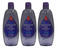 3 Pk Johnson's Baby Calming Lavender Shampoo Gentle To Eyes No More Tears, 15 Oz
