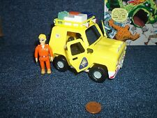 Fireman Sam Rescue Jeep & Tom Thomas Figure, See Other Sets & Combine Shipping