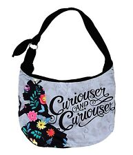 Loungefly Disney ALICE IN WONDERLAND CURIOUSER HOBO BAG Handbag Purse Tote NEW