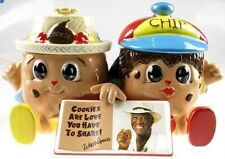 Famous Wally Amos Double Canister Chip Character Cookie Jar NIB Limited Edition