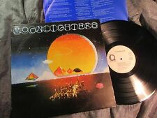 PSYCHED COUNTRY ROCK - THE MOONLIGHTERS - s/t LP 1977 - LINE REC. GERMANY insert