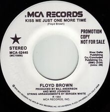 FLOYD BROWN Kiss Me Just One More Time ((**NEW 45 DJ**)) from 1984