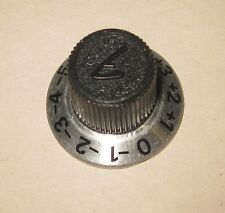 Control Knob for Fender 400 PS, 300 PS, 160 PS tube amp, EQ +5 to -5 scale
