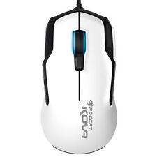 [ROCCAT] KOVA - PURE PERFORMANCE GAMING MOUSE, USB, 7000DPI, RGB Color, White