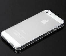 Ultra Thin Slim Matte Clear Snap On Hard Case Cover Skin for Apple iPhone 5S