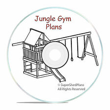 Beginner Design Jungle Gym Plans, Build a Fort or a SwingSet for your kits, CD
