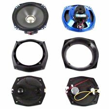 "J&M Rokker XX 7.25"" Batwing Fairing Speaker Kit 2 Front Speakers Harley Touring"