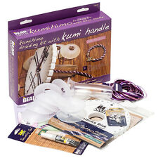 Beadsmith Kumihimo Starter Jewellery Making Braiding Kit with Kumi Handle (G26)