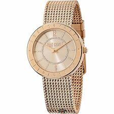 Orologio Watch Just Cavalli Donna Uhr R7253532501 Shiny Oro Rosa Maglia Milano