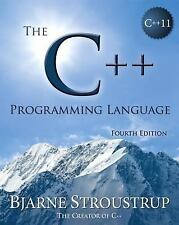 THE C++ PROGRAMMING LANGUAGE - NEW PAPERBACK BOOK