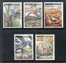 Iraaq 787-791 MNH Birds Common Kingfisher, Grey Heron,  Blue Rock 1985. x21885