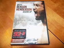 UFC PRESENTS BENSON HENDERSON:RISING UP Ultimate Fighting 2 Disc DVD SET NEW