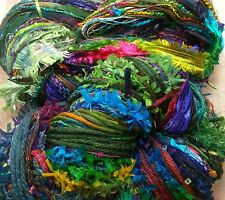 Art yarn Potluck original 150 yds hand tie stained glass great adirondack