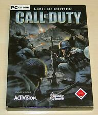 Call of Duty-Limited Edition PC-compresa colonna sonora & Manuale
